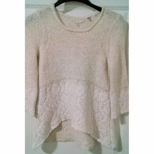 "Anthropologie "" knitted & knotted "" sweater"
